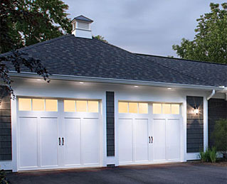 Steel Entry Doors on Insulated Steel Garage Door  Consider The Coachman Collection
