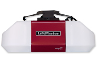 Heavy lifting garage door opener