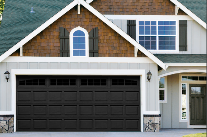 Perfect The Hampshire Garage Door In Black