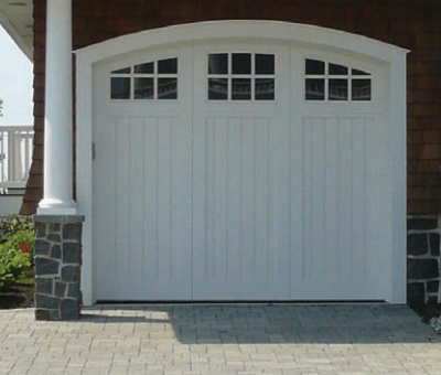 Artisan Symphony Carriage House Garage Door By Jolicoeur