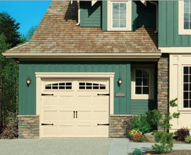 General Doors Advantage Estate Steel Carriage House Garage